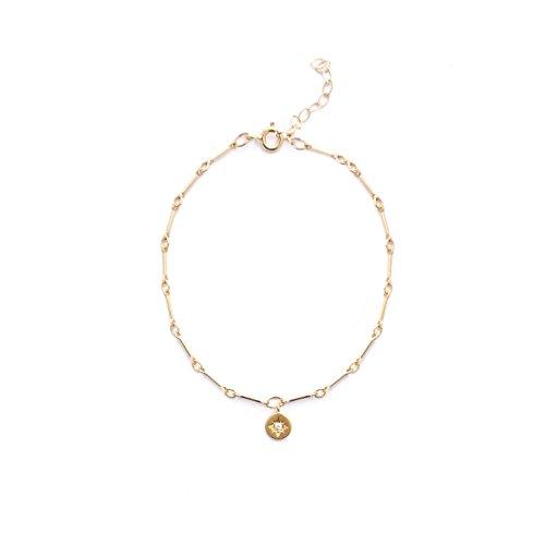 Mod Star - Mod + Jo Star Chain Bracelet-14k Gold Fill Bracelet-Delicate Gold Bracelet