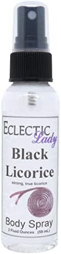 Black Licorice Body Spray, 2 ounces