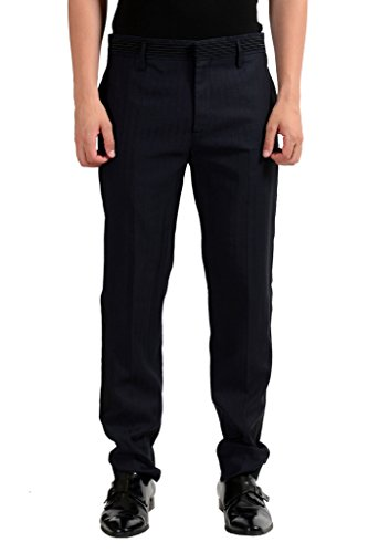 Marc Jacobs Men's Navy Blue Linen Dress Pants US 32 IT 48;