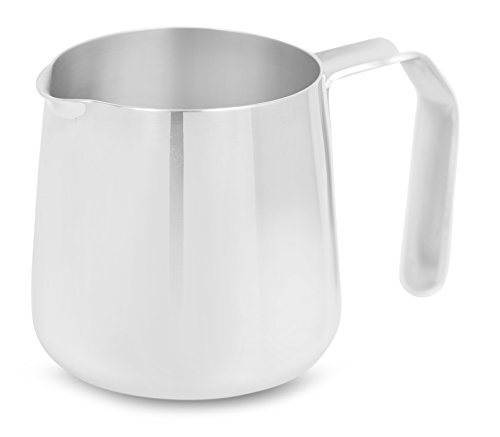 Internet's Best Mini Milk Creamer Pitcher | 1.5 Ounce | Stainless Steel Personal Size Coffee and Tea Creamer Pitcher | Tiny