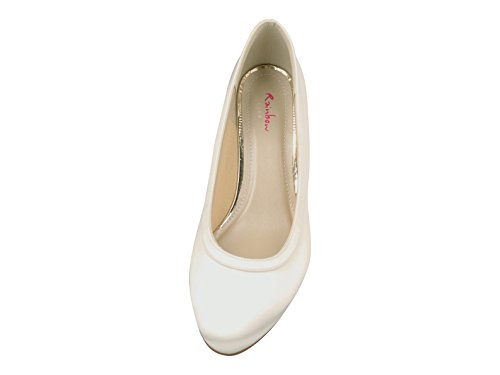 Coloured Peu Creme Femme Elsa Ivory Shoes 17dwqUx0T