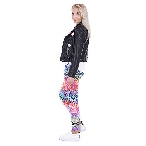 donna da e pantaloni elasticizzati pantaloni Lybtrouser donna primavera da leggings Stampa alta pantaloni autunno Pantaloni 3D slim qEOzRw
