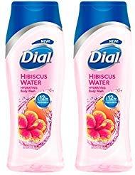 Dial Hydrating Body Wash - Hibiscus Water - Net Wt. 16 FL OZ (473 mL) Per Bottle - Pack of 2 Bottles