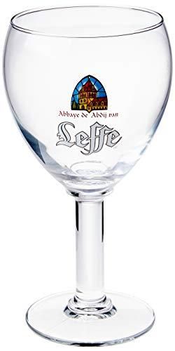 Leffe Box com 4 Taças para Cerveja Ambev Transparente 330Ml