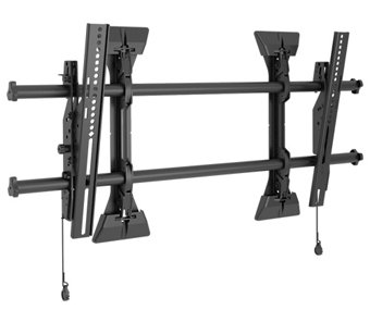 Chief LTMU - Fusion Series Micro-Adjustable Universal Tilt Wall Mount for 37 Inch - 63 Inch Screens with ControlZone - Mfg Part Cherry