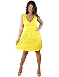 Amazon.com: Yellow - Casual / Dresses: Clothing, Shoes & Jewelry