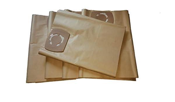 10 bolsas de aspiradora aptas para Autlead WD02A Wet&Dry: Amazon ...