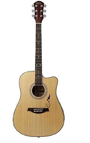 ギター 41インチ初心者Professionalのアコースティックギターカッタウェイ木製ギター 入門 ギター (Color : Natural, Size : 41 inches)