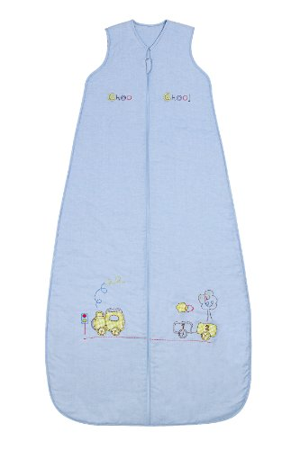 Slumbersafe Summer Kid Sleeping Bag 1 Tog - Choo Choo, 3-6 years/XL by Slumbersafe