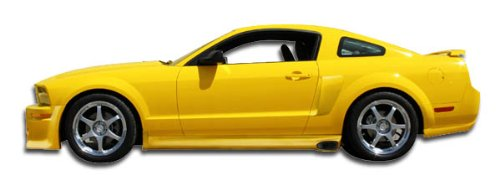 2005-2014 Ford Mustang Duraflex Eleanor Side Skirts Rocker Panels - 2 Piece