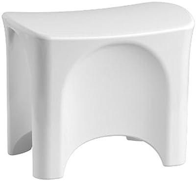 Sterling Plumbing 72186104-0 Freestanding Shower Seat, White