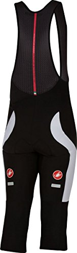 Castelli Velocissimo 3 Bib Knickers - Men's Black/White, (Bib Knickers)