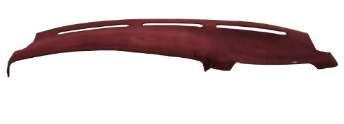 DashMat VelourMat Dashboard Cover Ford and Lincoln (Plush Velour, Wine)