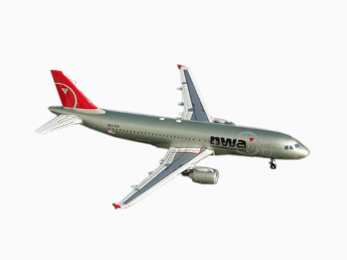 A320 Northwest Airline - Gemini Jets Northwest A320-200 1:400 Scale