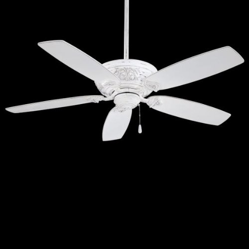 French White Fan Blades - Minka-Aire F659-PBL, Classica, 54