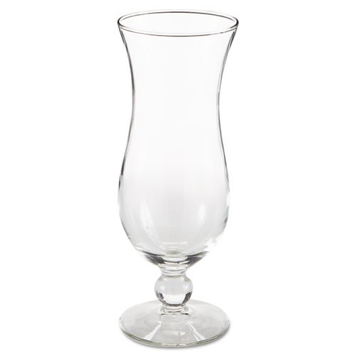 Libbey Hurricane Footed Glasses, Cocktail, 14.5 oz, 8 1/4'' Tall - Includes 12 glasses per case.