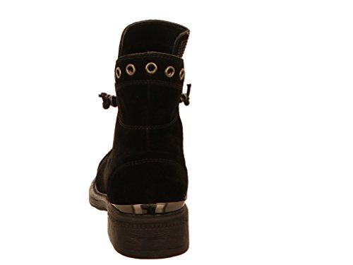 Noir Pena Alma Chaussures En Lacets À Ville 62022 Pour 3 De 7556 Femme qxxACUw7