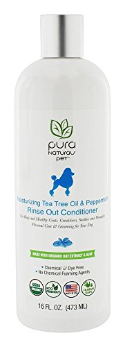 Conditioner Dog Peppermint (Tea Tree and Peppermint Rinse Out Conditioner)