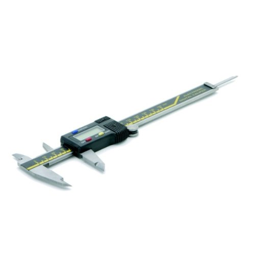 Rolson 50939 ABS Digital Vernier Calliper, 6 x 1/1000 Inches