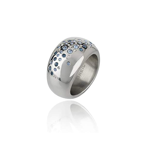 Breil Anello Donna collezione ILLUSION con pietre multiple in crystal jewellery 1 spesavip