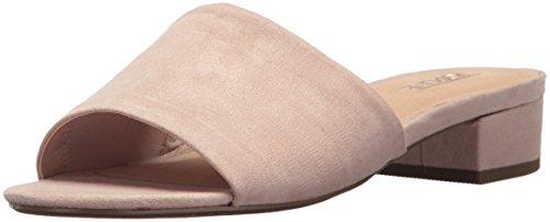 Topline Women's Oliver Heeled Sandal, Nude, 6 M US