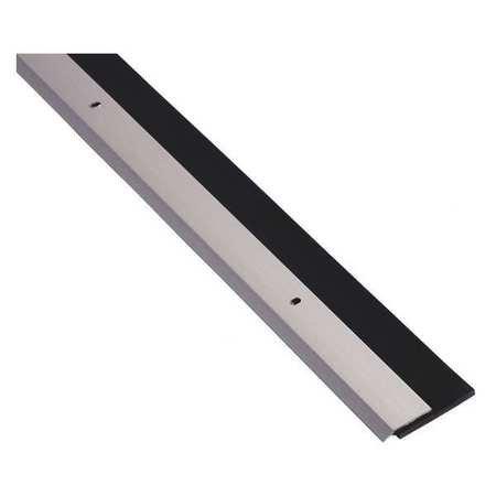 Alum Triangle - Door Sweep, Single Fin, Anodized Alum