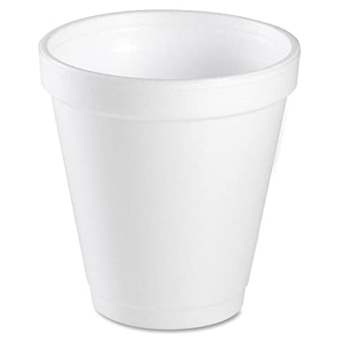 Wholesale CASE of 5 - Dart Insulated Styrofoam Cups-Insulated Styrofoam Cup, 10 oz, 1000/CT, White - 10 Ounce Styrofoam Cups
