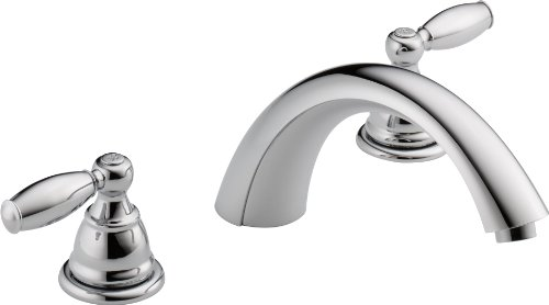 Peerless PTT298696 Apex Two Handle Roman Tub Trim, Chrome - 2 Hole Tub
