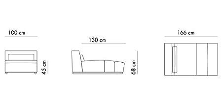 NEGREshop - Sofá 4 plazas adn, alto: 87/68 cm ancho: 300 cm ...