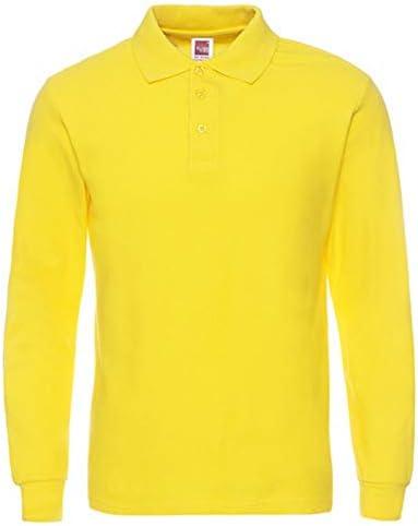 NISHIPANGZI Camisetas de algodón para Hombres Camisas Polo Manga ...