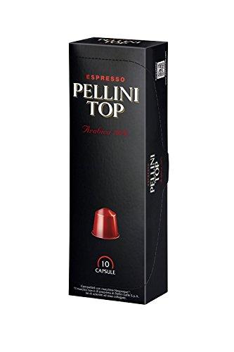 Nespresso Compatible Capsules - Pellini Top 100% Arabica - 20 (Capsule Top)
