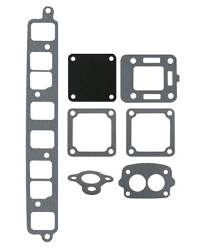 EXHAUST GASKET SET | GLM Part Number: 39300; Sierra Part Number: 18-4398; Mercury Part Number: 27-53354A1
