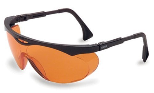 Uvex Skyper Blue Light Blocking Computer Glasses with SCT-Orange Lens - Glasses Block Blue