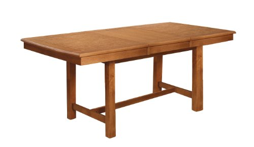Wood Extending Dining Table - 5