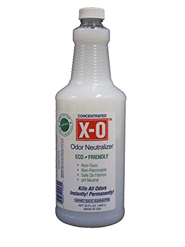XO Odor Neutralizer Concentrated (32oz, 1gallon, 5gallons) - All-Natural Odor Neutralizer Deodorizer. Concentrate, 32-Ounce