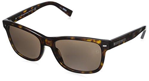 Ermenegildo Zegna Men's EZ0001 Sunglasses, Dark - Zegna Couture