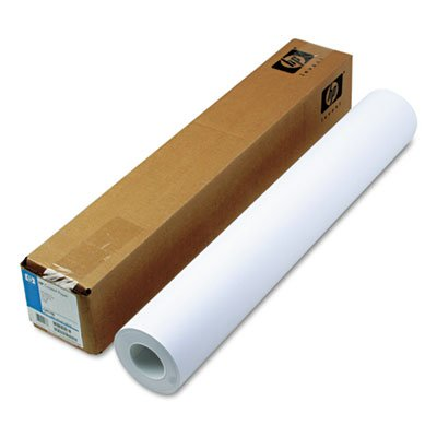 ge Format Paper, 4.5 mil, 24'' x 150 ft, White, Sold as 1 Roll (Inkjet 24' Wide Roll)