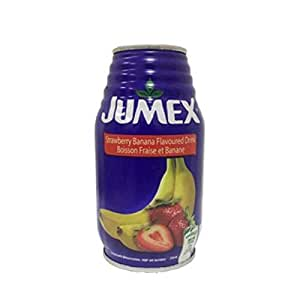 Jumex Strawberry-Bananna Nectar Juice 6X200ml