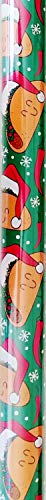 Christmas Holiday Tacos Design Gift Wrapping Paper Roll - Festive Fun Meican Foodie