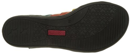 Pikolinos Women's Antillas W0h_v17 Wedge Heels Sandals Black 8l7h8ej