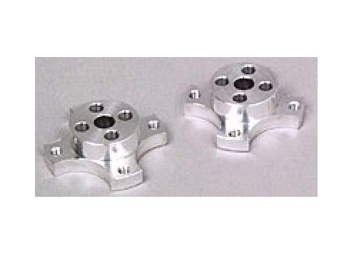 (Pair Reliable Wheel Adapters for Touring Cars PAN CAR Oval Tires/Wheels TEA03012 Quick Arrive)
