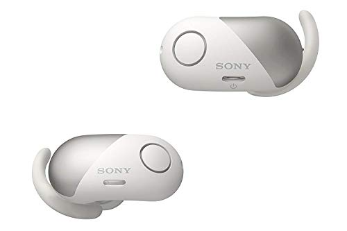 - Sony SP700N Wireless Noise Canceling Sports in-Ear Headphones White WF-SP700N/W (Renewed)