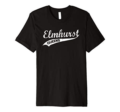 Elmhurst Queens Vintage NYC Retro Shirt Premium T-Shirt -