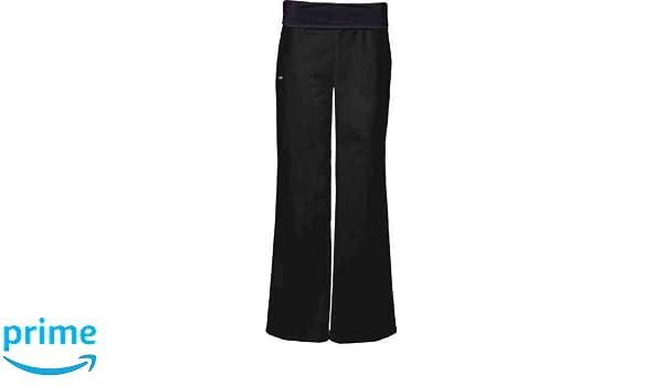 Cherokee Uniforms Pantalones para Mujer Flexible con umfalt Puños Negro (S): Amazon.es: Ropa y accesorios