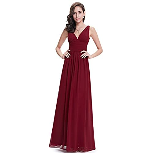Long Empire Mother of the Bride Dresses with: Amazon.com