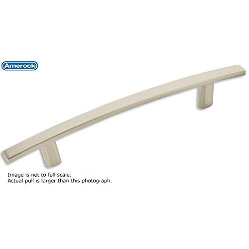 - Amerock Essential'Z 5 in. (128mm) Drawer Pull Satin Nickel - BP9362G10