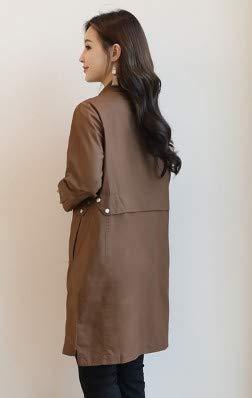 Femminile Dimagrante Soprabito Ladies Lungo Dress Tuta Inverno Fashion Top Jacket Autunno Ysfu Tratto Temperamento Trench E Donna Casual Da Cappotto Sportiva Cappotti Vita qwnTFX7