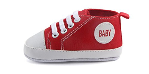 Pictures of WAM Baby Boys Girls Canvas Toddler Sneaker 1