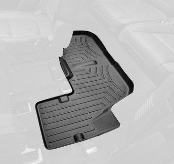 WeatherTech Custom Fit Rear FloorLiner for Ford Explorer Black 443593