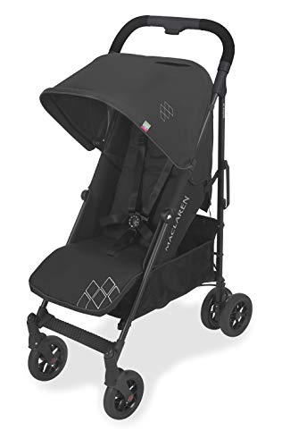 Maclaren Techno Arc Stroller- For newborns up to 55lb with extendable UPF 50+/waterproof hood, multi-position seat and 4-wheel suspension. Compatible with carry cot. Accessories in the box